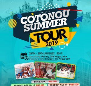 COTONOU SUMMER TOUR 2019