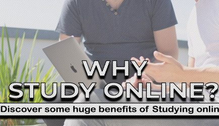 BENEFITS OF STUDYING ONLINE: