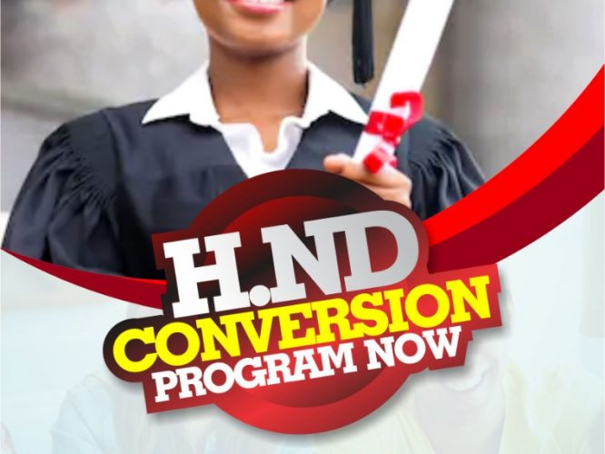 HND CONVERSION PROGRAM WITH HEGT (UNIVERSITY OF MANAGEMENT SCIENCE AND TECHNOLOGY)